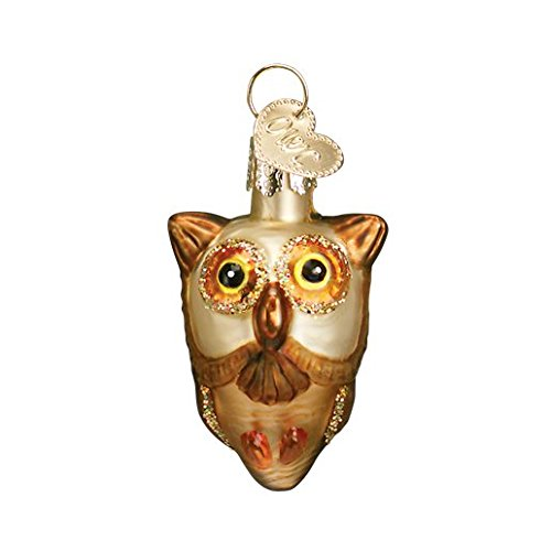 Religious Christmas Ornament Assortment: Old World Christmas Miniature Halloween Assortment Glass