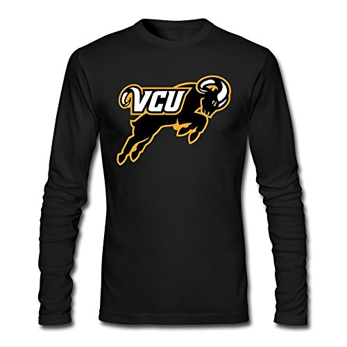 LOOIN Men's VCU Rams Team Long Sleeve T-Shirt XL