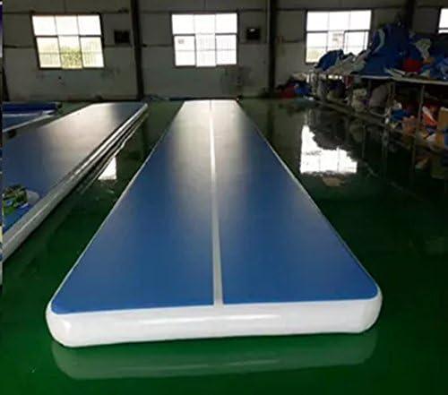 Zguo 20ftインフレータブルジムマットエアトラック床タンブル体操用マットホーム使用チアリーディング、ビーチ、公園