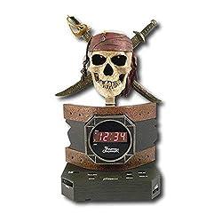 Disney Pirates of the Caribbean Alarm Clock Radio consumer electronics