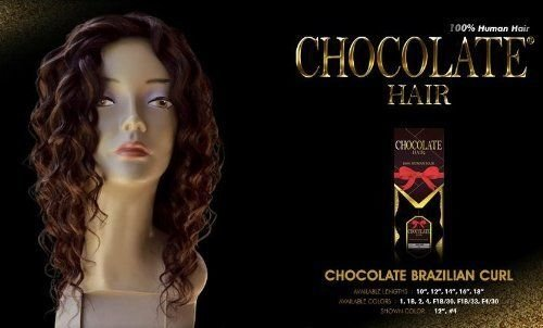 Amazon chocolate brazilian curl 14 everbeauty 100 human amazon chocolate brazilian curl 14 everbeauty 100 human hair weave 2 dark brown hair replacement wigs beauty pmusecretfo Image collections