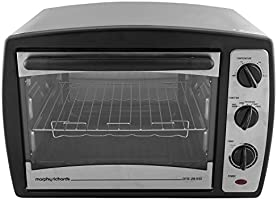 Morphy Richards 28 RSS 28-Litre Stainless Steel Oven Toaster Grill (Dark Grey)