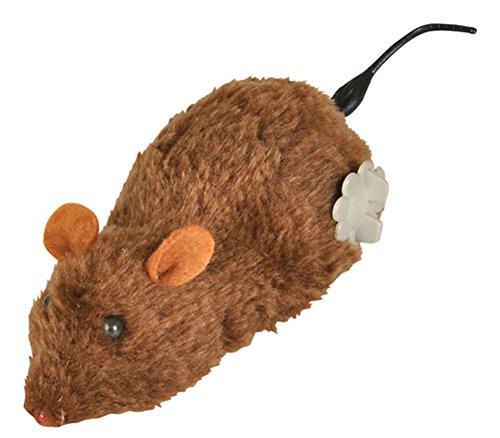 Rhode Island Novelty Brown Windup Wind Up Prank Animal Lab Mouse Rat Toy Decoration