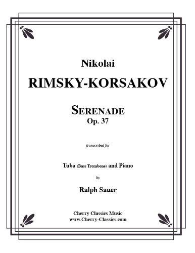 Serenade, Op. 37 for Tuba or Bass Trombone & Piano