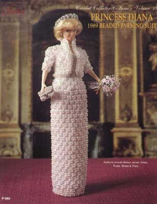 [Crochet Collector Costume Volume 49: 1989 Princess Diana Beaded Evening Suit] (Paradise Costumes Volume)