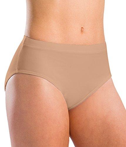 Motionwear Underwear Team Brief, Nude, Medium Adult