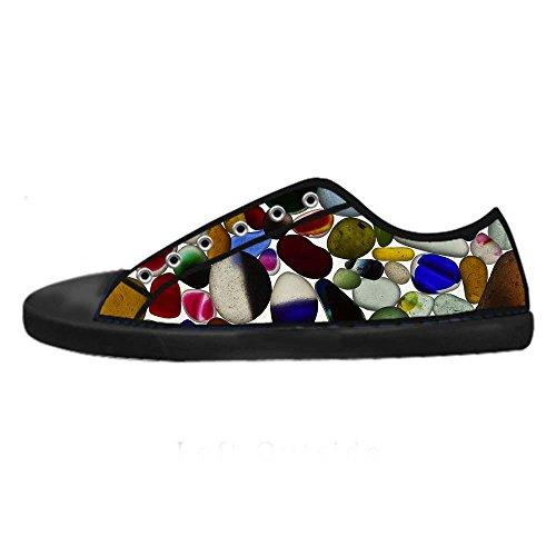 Dalliy Pebble Mens Canvas shoes Schuhe Lace-up High-top Sneakers Segeltuchschuhe Leinwand-Schuh-Turnschuhe C