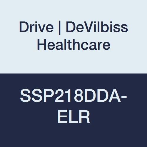 Drive DeVilbiss Healthcare SSP218DDA-ELR Silver Sport 2 Wheelchair, Height 36''
