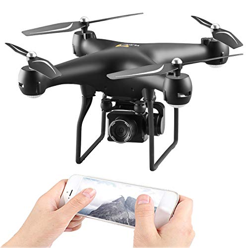 OMLTER HD Aerial Photography RC Drone with Camera Live Video 1080P and WiFi Image Transmission Quadcopter, Altitude Hold…