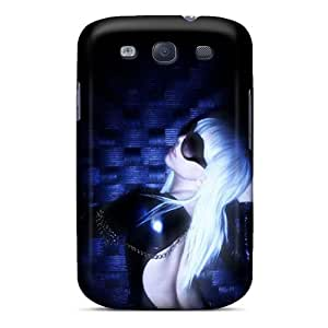 New UseITcf1983EkNaE Lady Gaga Skin Case Cover Shatterproof Case For Galaxy S3
