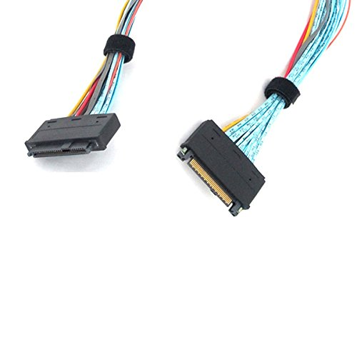 ‌SFF-8639 68 Pin U.2 Cable Extension Cable - 1 Meter