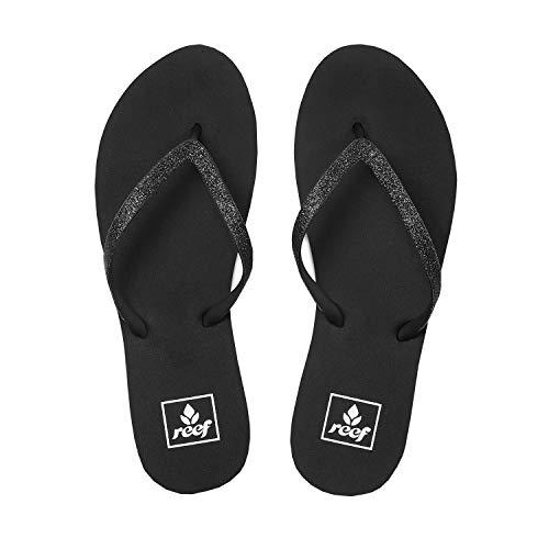 - Reef Women's Stargazer Sandal,Black/Black,7 M US