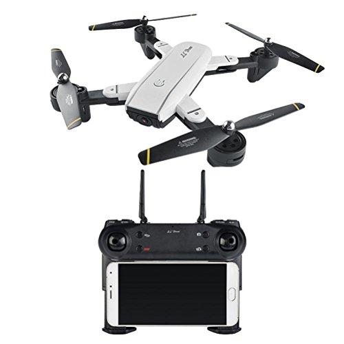 Dreamyth SG-SG700 2.0MP Wide Angle Camera Wifi FPV Foldable 6-Axis Gyro RC Quadcopter Durable (white B) by Dreamyth