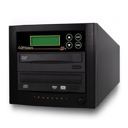 Copystars DVD Duplicator Sata CD-DVD Burner 24X 1 to 1 DVD Copier Duplicator Tower by Copystars
