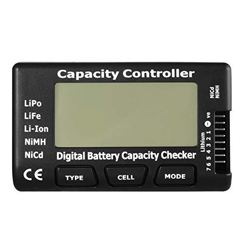 mimagogo RC CellMeter-7 Digital Contr/ôleur de Batterie pour LiPo Life Li-ION Nicd NiMH