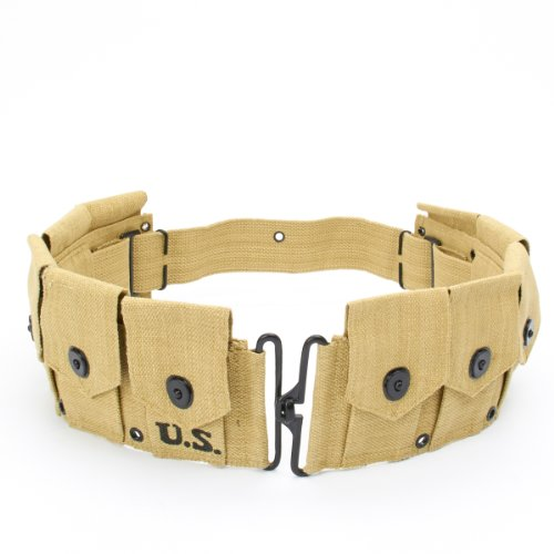 (U.S. WWII M1 Garand Rifle Ammunition Belt WW2)