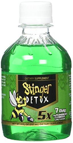 Stinger 1-Hour Detox Liquid Drink 5x Strength Grape 8oz 2PK The Buzz