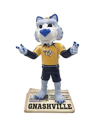 Gnash Nashville Predators 2017 Stanley Cup Final Newspaper Base Bobblehead -