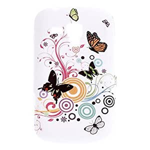 Butterfly Pattern Durable Soft Case for Samsung Galaxy Trend Duos S7562