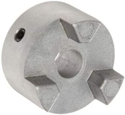 68514449709 Jaw Coupling Hub Straight Jaw Aluminum Cplg Size: 099 Finished w//Keyway /& 1 SS 25 mm Bore Pack of2