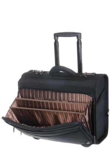 Pilot case trolley Davidt s reference D259305 couleur 01 - Black Schwarz