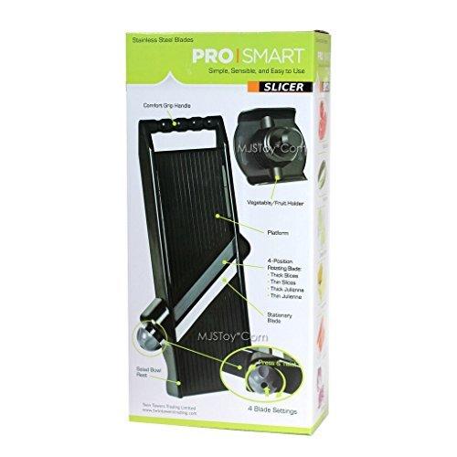 Professional Shredder, Slicer, Chopper, Scissor and Peeler by Prosmart by Prosmart