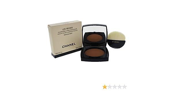 Chanel Les Beiges Poudre Belle Mine EnsoleillÉe Terra, Cipria Compatta: Amazon.es: Belleza