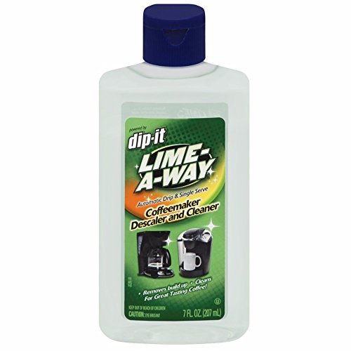 Lime-A-Way Dip-It Coffeemaker Cleaner, 7 oz Bottle, Descaler & Cleaner for Drip & Single Serve Coffee Machines ()