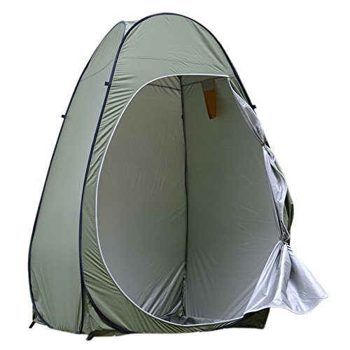 [Portable Pop Up Camping Tent Shelter Zippered Door] (Group Dressing Up Ideas)