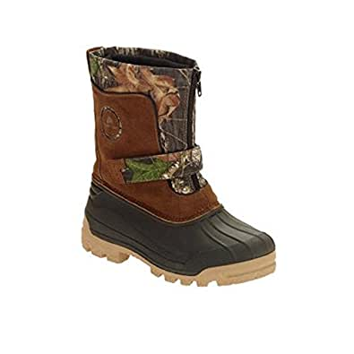 Amazon.com: Walmart Ozark Trail Boys' Camo Winter Boots