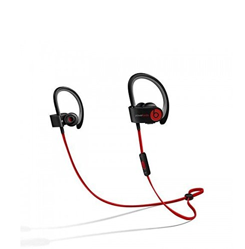 Beats by Dr Dre Powerbeats 2 Wireless In-Ear Bluetooth Headphone (Black Red)