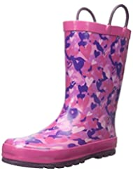 Western Chief Kids Heart Camo Waterproof Rain Boot