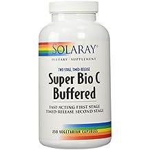 Solaray Super Bio C - Buffered 1000 mg 250 Vegetable Caps
