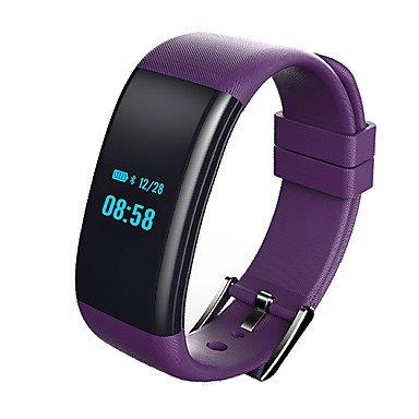 histona YY df30 Hombres Mujer Smart Pulsera, Smartwatch, frecuencia cardíaca Tensiómetro de oxígeno Cansancio supervisión para iOS Android: Amazon.es: ...