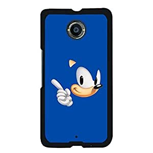 Case For Google Nexus 6 Awesome Look Sonic The Hedgehog Durable Cover Case