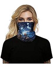 قناع بالاكلافا لنصف الوجه والرقبة جيد التهوية ومضاد للاشعة فوق البنفسجية والرياح، للدراجات النارية والهوائية والتزلج على الجليد