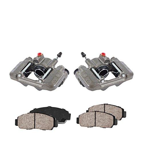 - COEK01548 [2] REAR Premium Loaded OE Caliper Assembly Set + Quiet Low Dust Ceramic Brake Pads