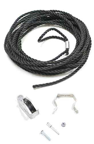Werner Ladder Rope & Pulley Kit (Werner Ac30 2 Extension Ladder Replacement Rope)
