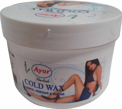 Ayur Herbals Cold Wax 150gm by Pearls of Beauty