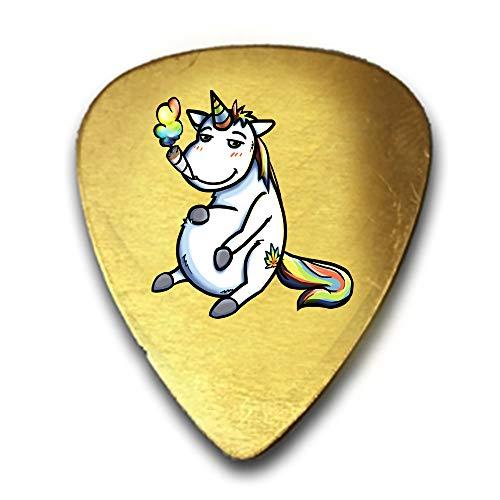 Pot Smoking Pals Unicorn 3D Color Printed Guitar and Bass Pick Gift -