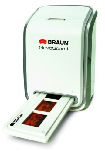 Braun Photo Technik Novoscan I - Escáner de negativos y diapositivas (Escáner con Adaptador de Película/Diapositiva) Braun-Nuernberg 34510
