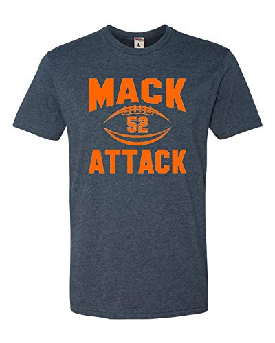 Large Navy Adult Mack Attack Deluxe T-Shirt