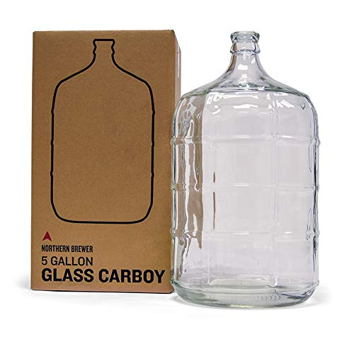 glass water bottle 5 gallon - 1