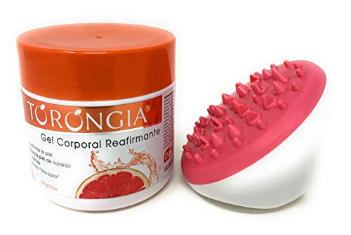 Torongia Coroporal Reaffirming Gel With Pink Cellulite Massager