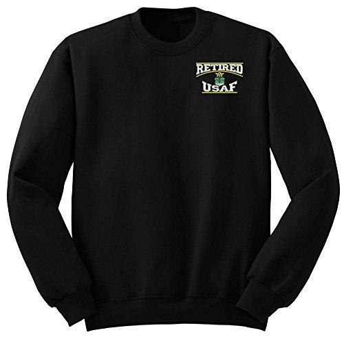 force Retired Military Crew Neck Sweatshirt XX-Large ()