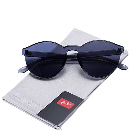 d23c5a8f4c Pro Acme One Piece Design Rimless Sunglasses Ultra-Bold Colorful Mono Block