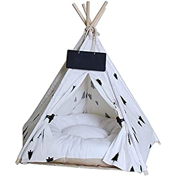 Amazon.com : Norgail Pet Teepee Tent for Dogs, Cute Modern