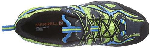 Sport Lime Black Noir Merrell GTX Herren Green Trekking Wanderhalbschuhe Capra amp; B5UqgS5
