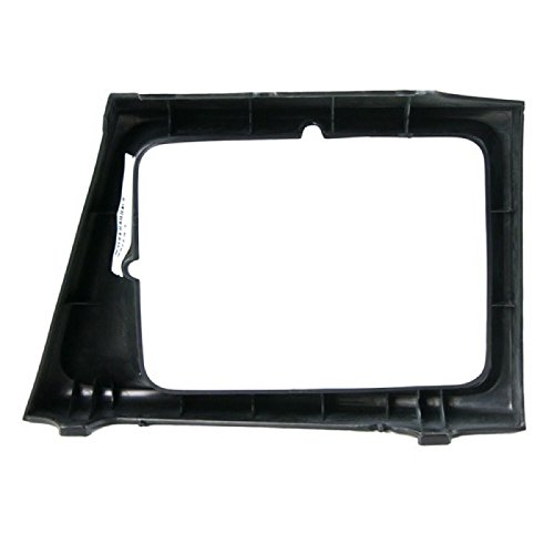 CarPartsDepot 1997-2002 FORD ECONOLINE LEFT HEADLAMP DOOR HEAD LIGHT BEZEL DRIVER ASSEMBLY
