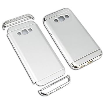 Samsung Galaxy J5 2016 Funda, Vandot Hybrid Diseño Rugged 3 en 1 Dura PC Anti-rasguños Carcasa Recubrimiento Metálico Chapado Bumper Mate PC Back Caja ...